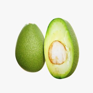 lightwave avocado 3D