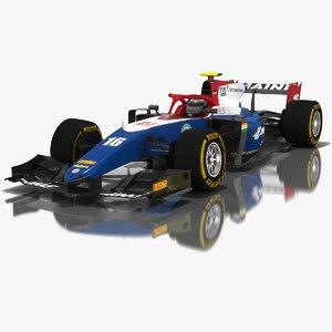 3D model trident formula 2 season
