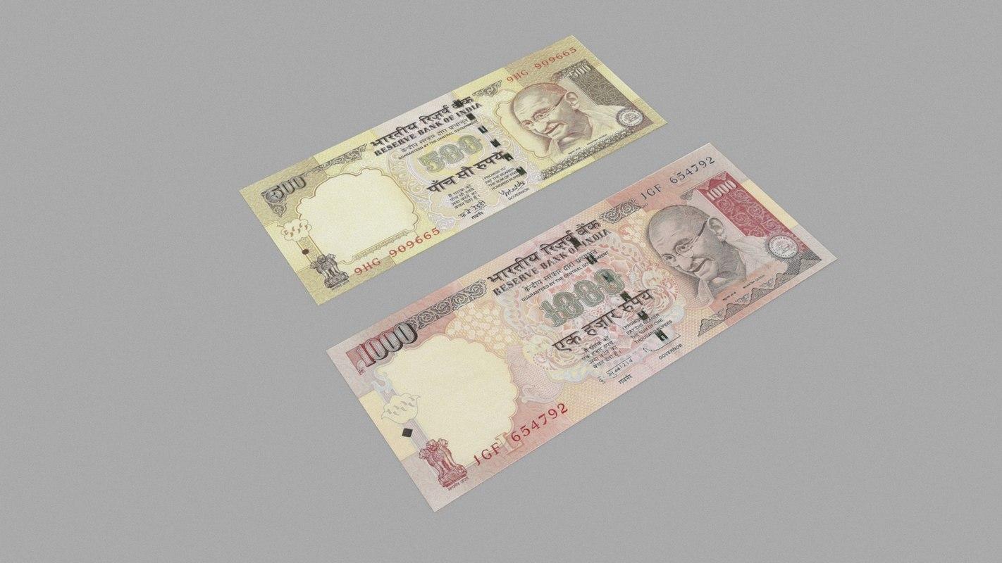 indian rupee model