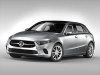 mercedes car 3D
