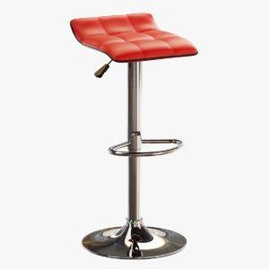 3D model seat barstool