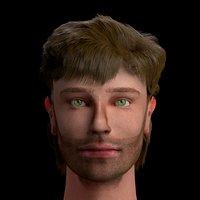 male head arthur 3D model