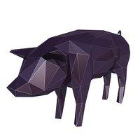 3D pig v1 model