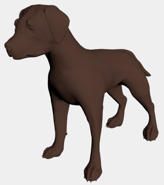 puppy dog 3D