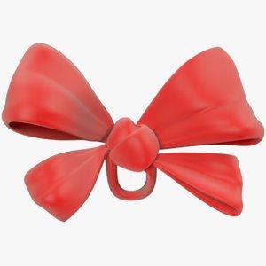 3D model bow