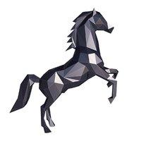 animal mammal horse 3D model