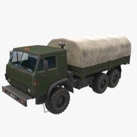 3D kamaz military