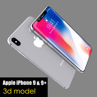 3D apple iphone 9