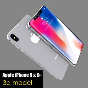 3D apple iphone 9