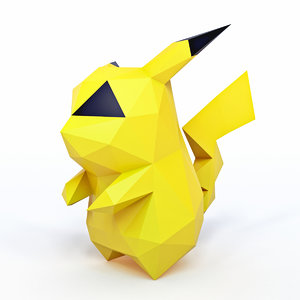 3D model character pokemon