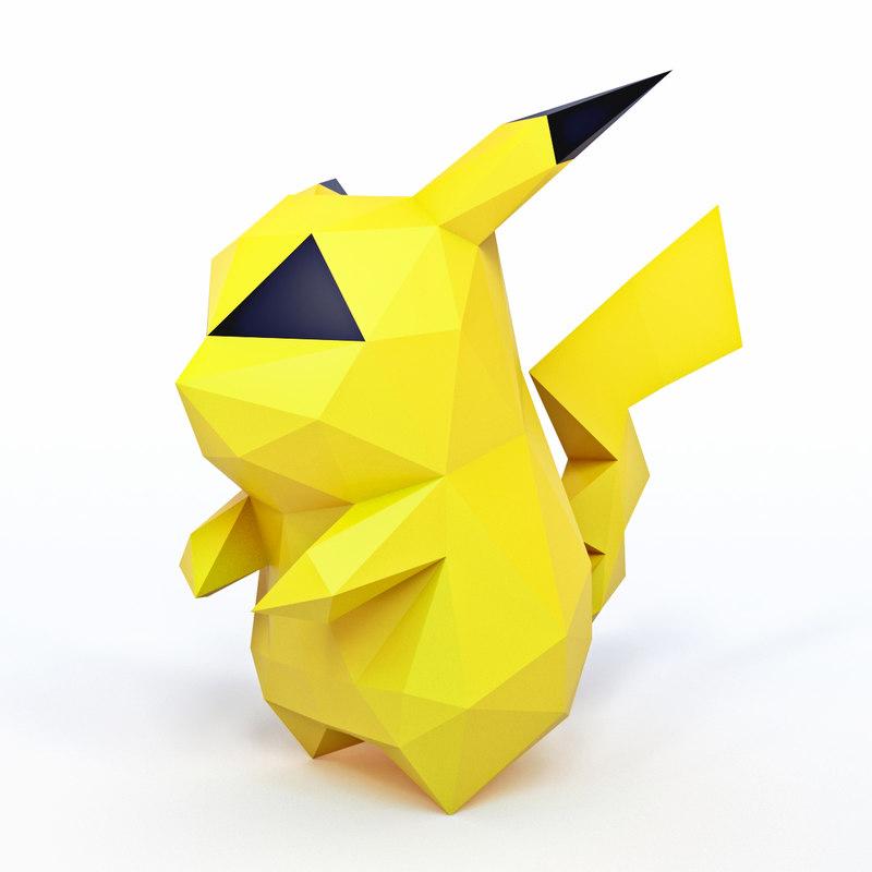3D model character pokemon