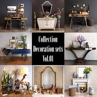 decoration sets vol 01 model