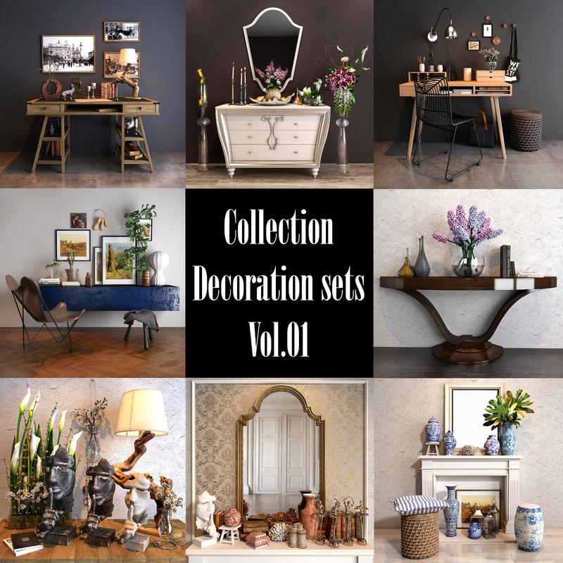 decoration sets vol 01 model