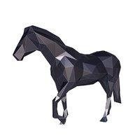 horse v2 3D model