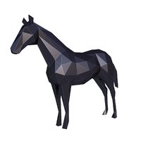 Horse Low Poly v3