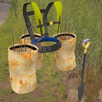 tree planter harness