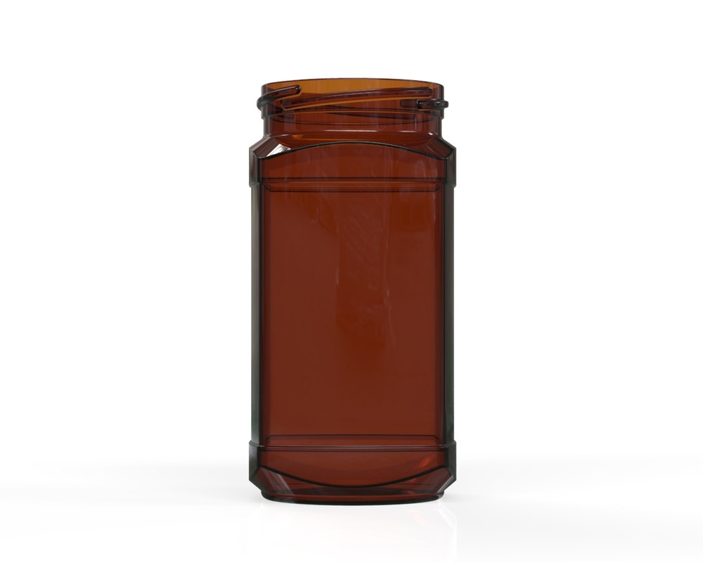 glass jar 5 3D model