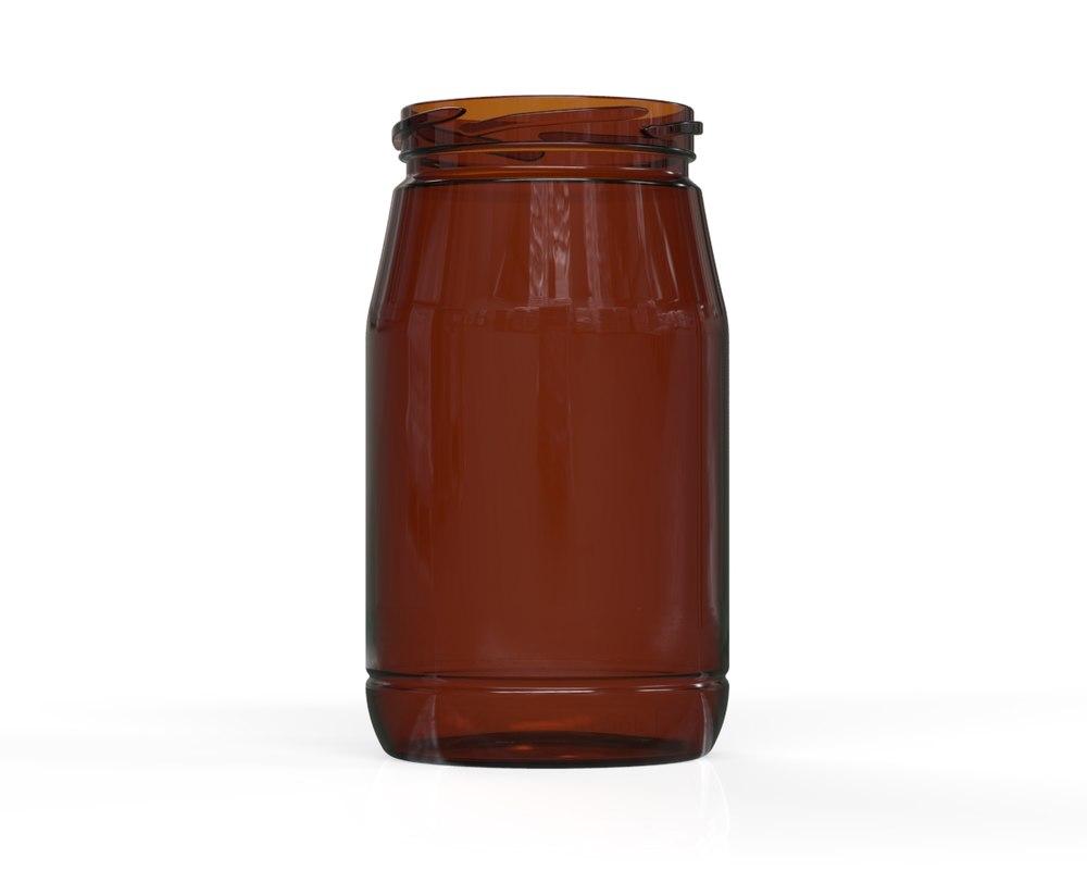 glass jar 8 3D model
