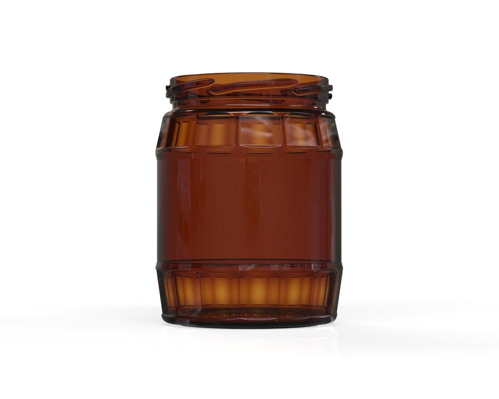 glass jar 9 3D