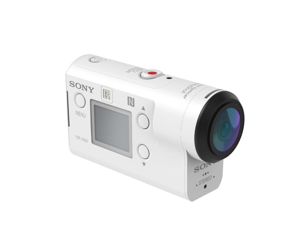 sony fdr-x3000 3D