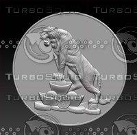 stl tiger 3D