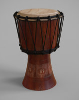 3D instrument music percussion