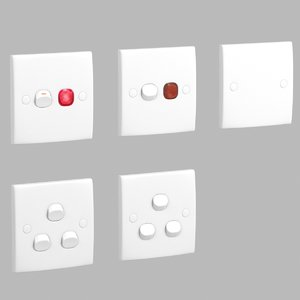 3D schneider s-classic switch model