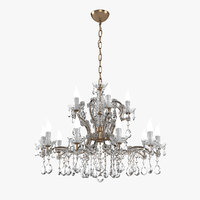 masiero ve916 chandelier 3D model