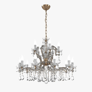 masiero ve916 chandelier 3D model