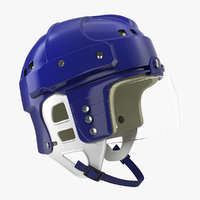 vintage hockey helmet generic model