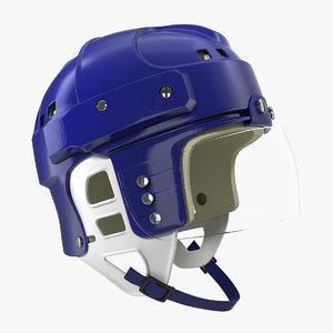vintage hockey helmet generic model