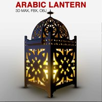 light arabic 3D model