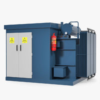3D model transformer box
