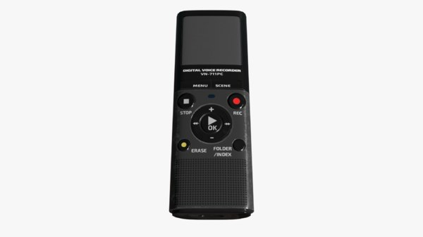 3D olympus vn-711pc digital voice