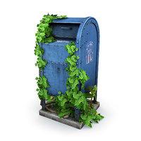 overgrown mailbox 3D