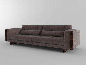 3D feel good sofa model