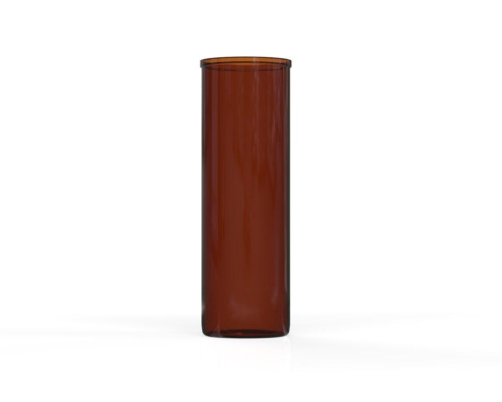 3D glass jar 19
