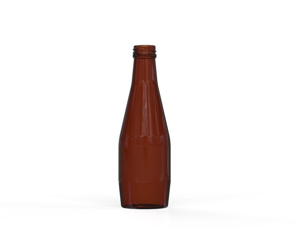 glass bottle 21 model