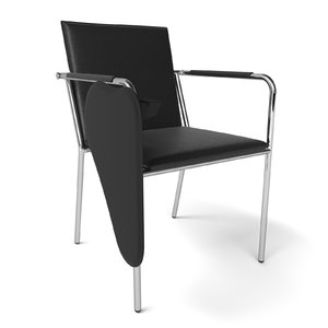 stackable chair writing model
