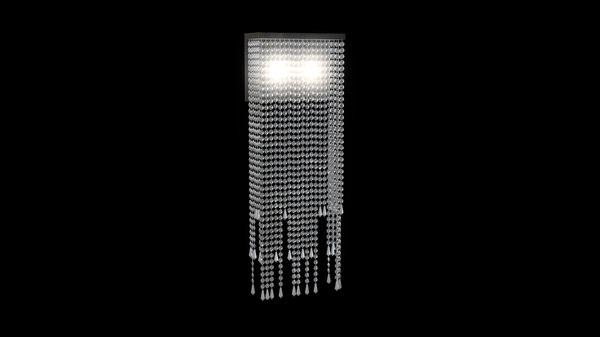 3D wall pendant lamp