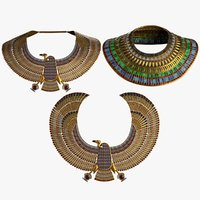 collars ancient 3D model