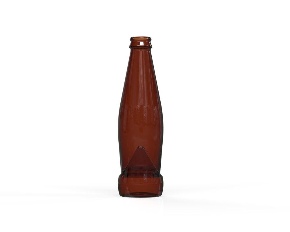 glass bottle 27 3D model