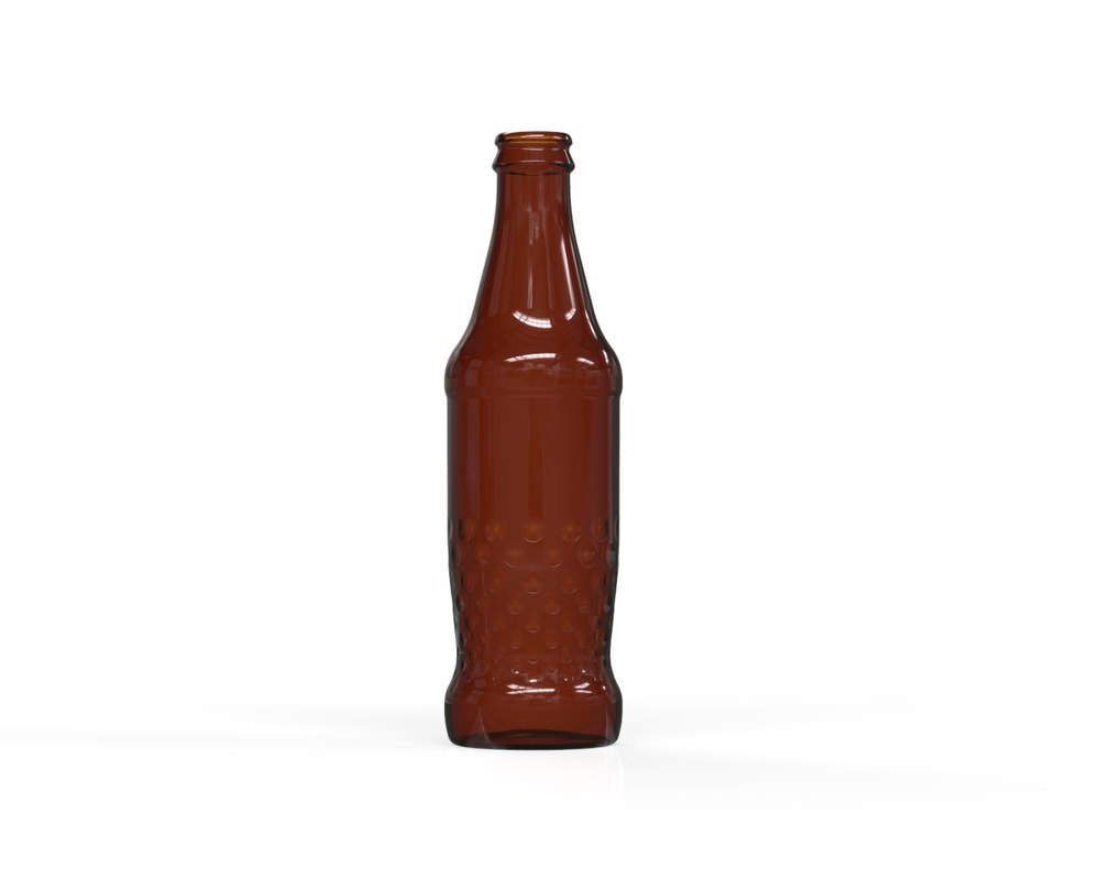 glass bottle 29 3D