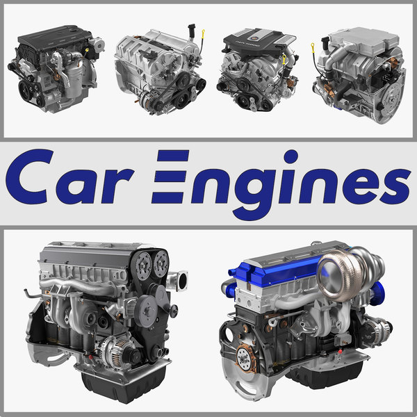 car engines 3D model