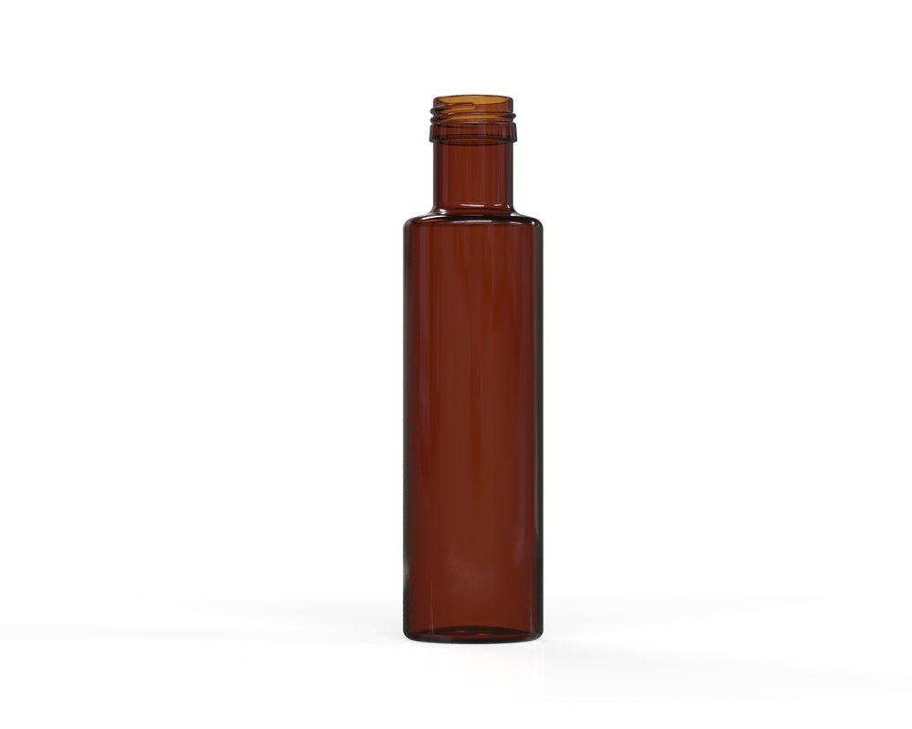 3D glass bottle 35