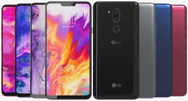 realistic lg g7 thinq 3D