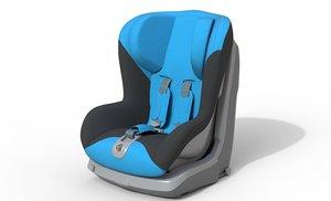 3D infant seat