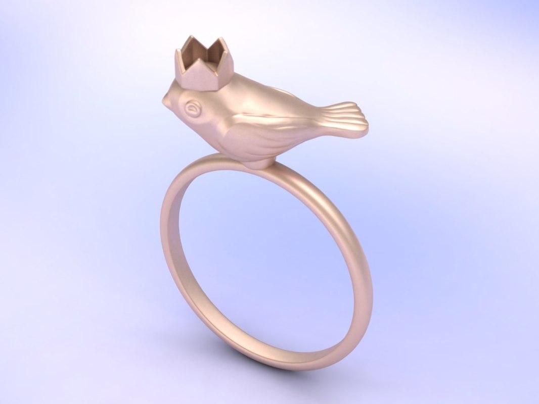 ring gold 925 model