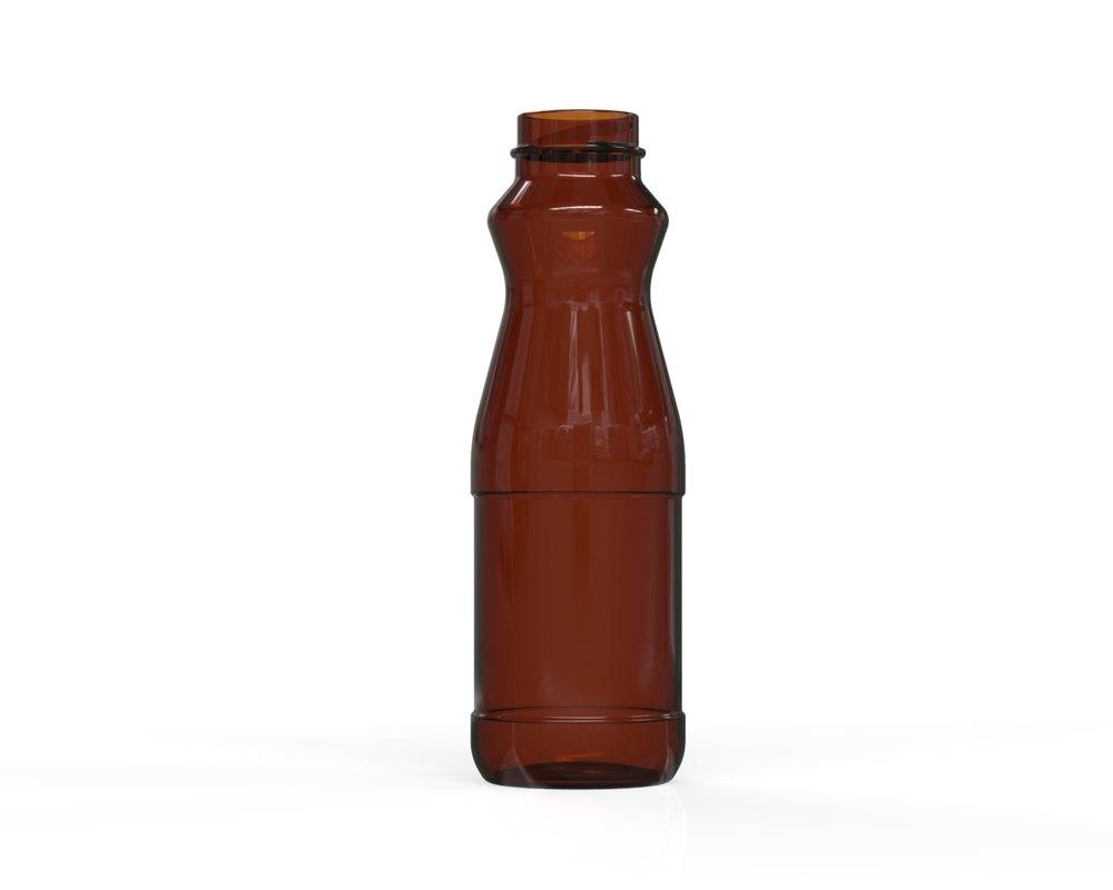 3D glass bottle 37 model