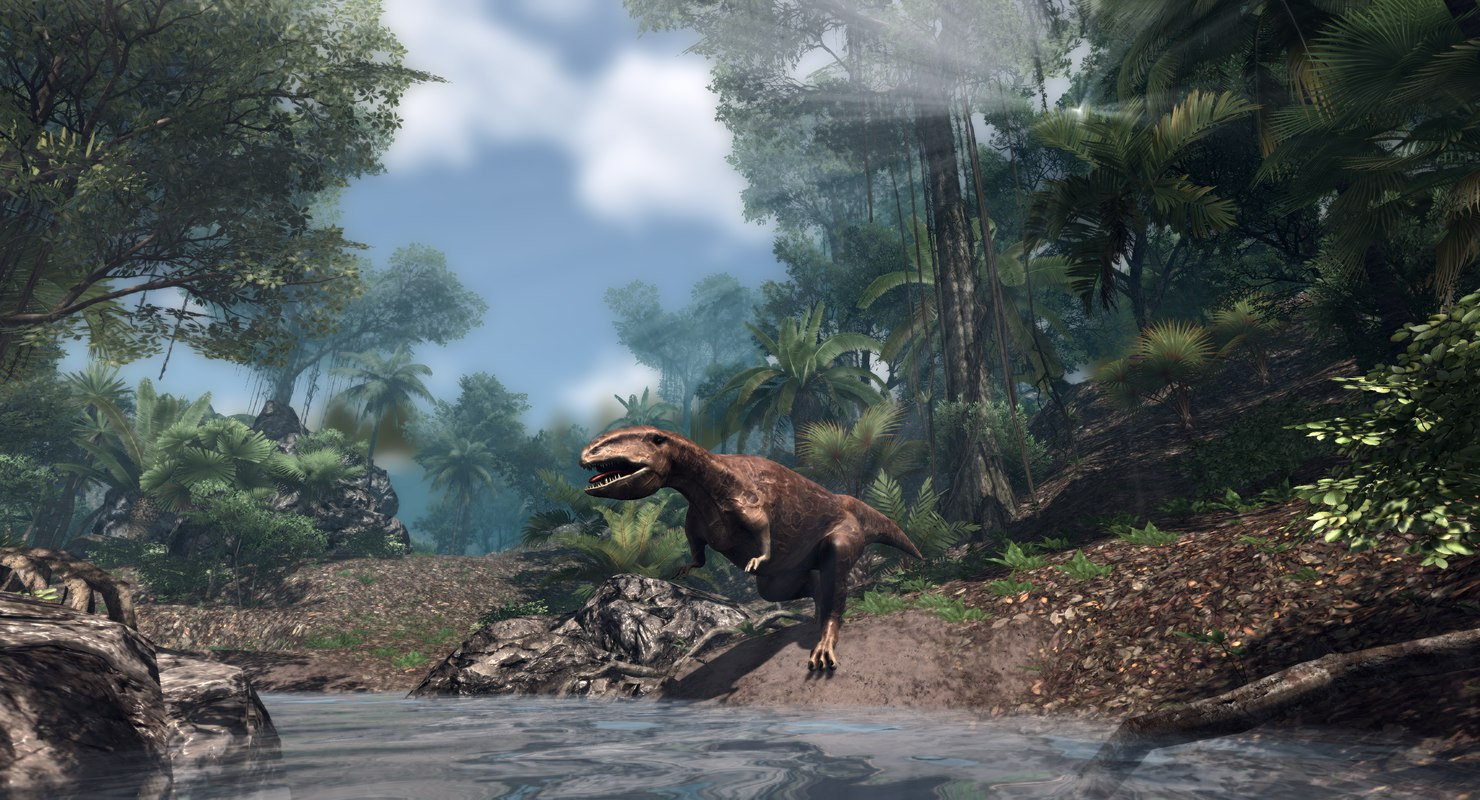 gigantosaurus animations model